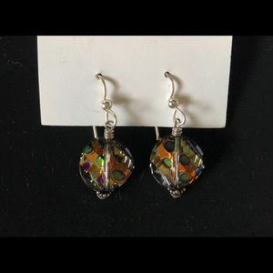 Hancrafted Jewelry - Handcrafted One of a Kind Dangling Earrings NIB